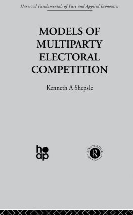 Multiparty Electoral Competition: Exogenous Agents