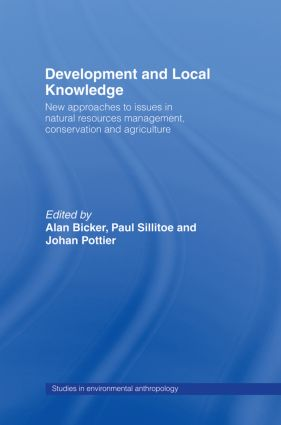 Development and Local Knowledge (Paperback) book cover