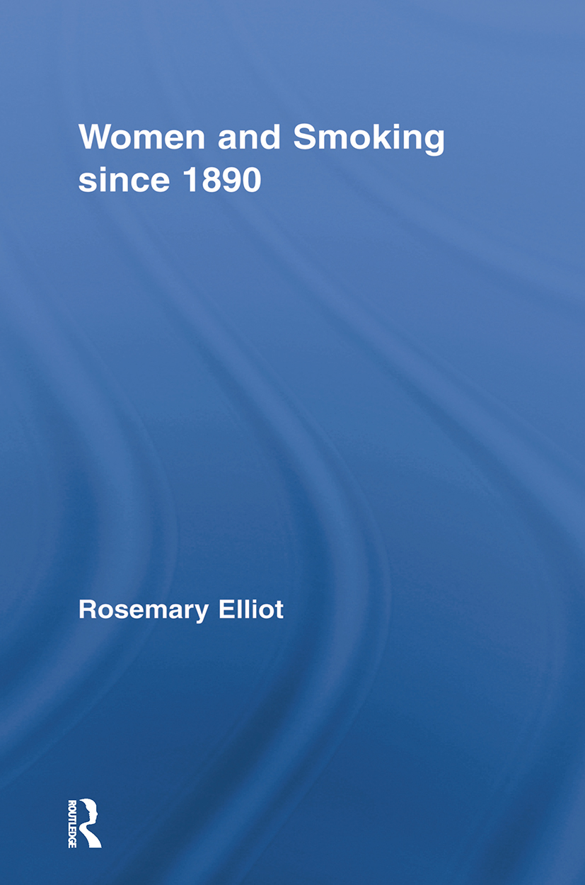 Women and Smoking since 1890 (Paperback) book cover