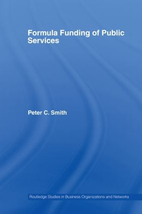 Formula Funding of Public Services (Paperback) book cover