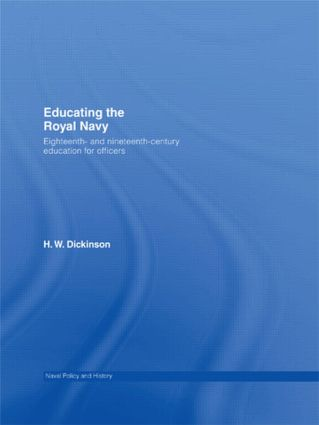 Educating the Royal Navy: 18th and 19th Century Education for Officers (Paperback) book cover