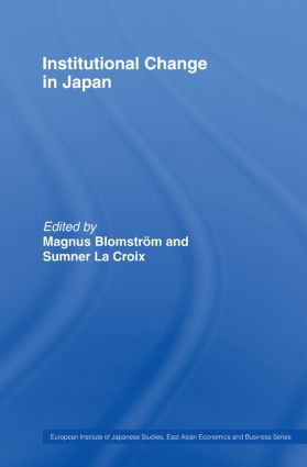 Institutional Change in Japan (Paperback) book cover