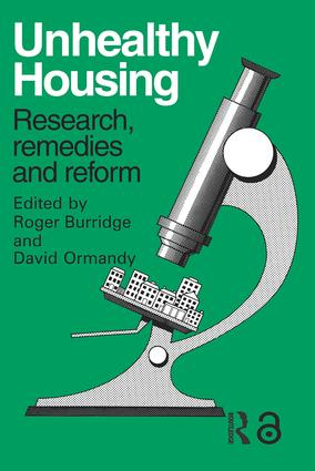 Unhealthy Housing: Research, remedies and reform (Paperback) book cover