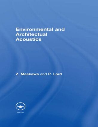 Environmental and Architectural Acoustics (e-Book) book cover