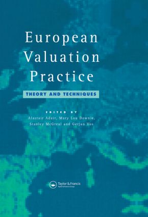 European Valuation Practice: Theory and Techniques (Paperback) book cover