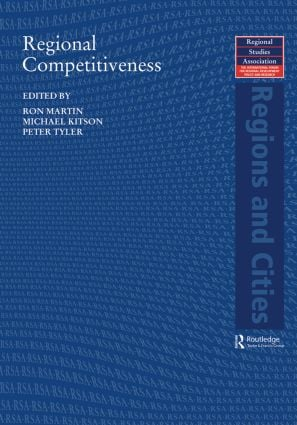 Regional Competitiveness (Paperback) book cover