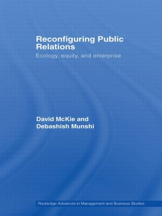 Reconfiguring Public Relations: Ecology, Equity and Enterprise (Paperback) book cover
