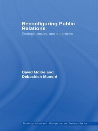 Reconfiguring Public Relations: Ecology, Equity and Enterprise book cover