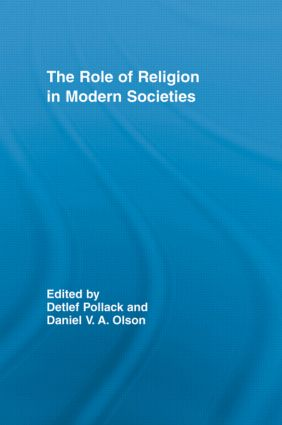 The Role of Religion in Modern Societies (Paperback) book cover