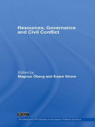 Resources, Governance and Civil Conflict (Paperback) book cover