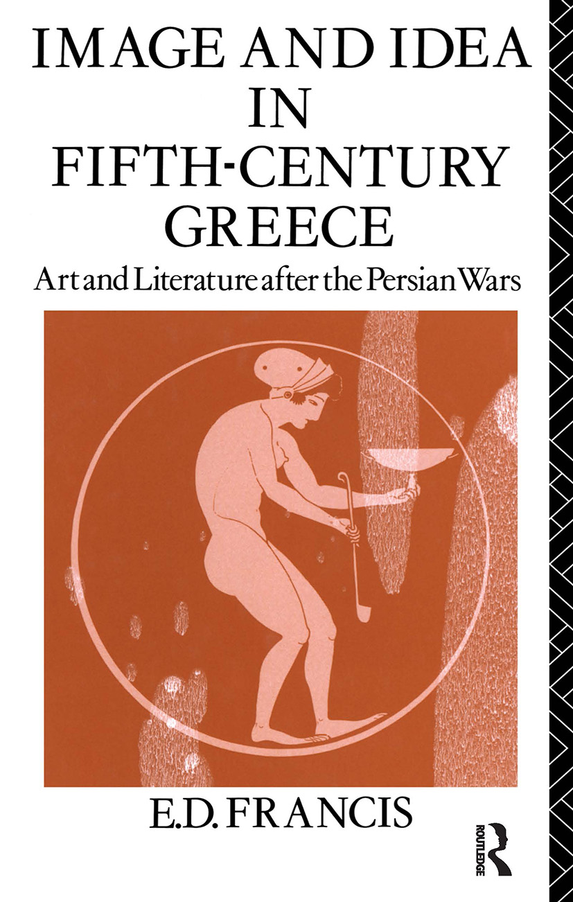 Image and Idea in Fifth Century Greece (Paperback) book cover
