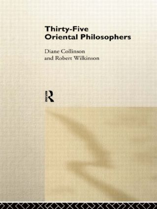 Thirty-Five Oriental Philosophers (Paperback) book cover