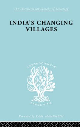 India's Changing Villages (Paperback) book cover