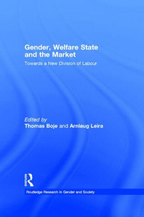 Gender, Welfare State and the Market: Towards a New Division of Labour (Paperback) book cover