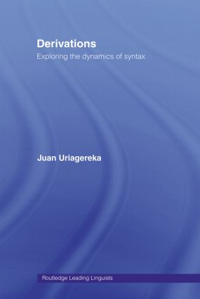 Derivations: Exploring the Dynamics of Syntax (Paperback) book cover