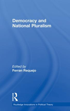 Democracy and National Pluralism book cover