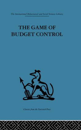 The Game of Budget Control