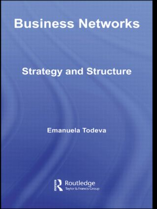 Business Networks: Strategy and Structure (Paperback) book cover