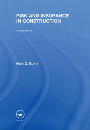 Risk and Insurance in Construction: 2nd Edition (Paperback) book cover