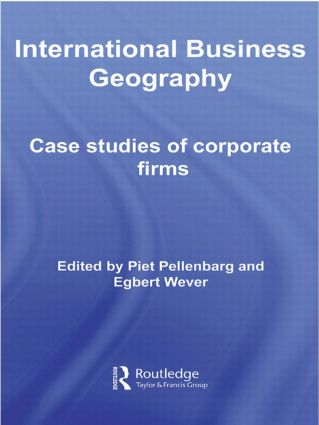 International Business Geography: Case Studies of Corporate Firms (Paperback) book cover