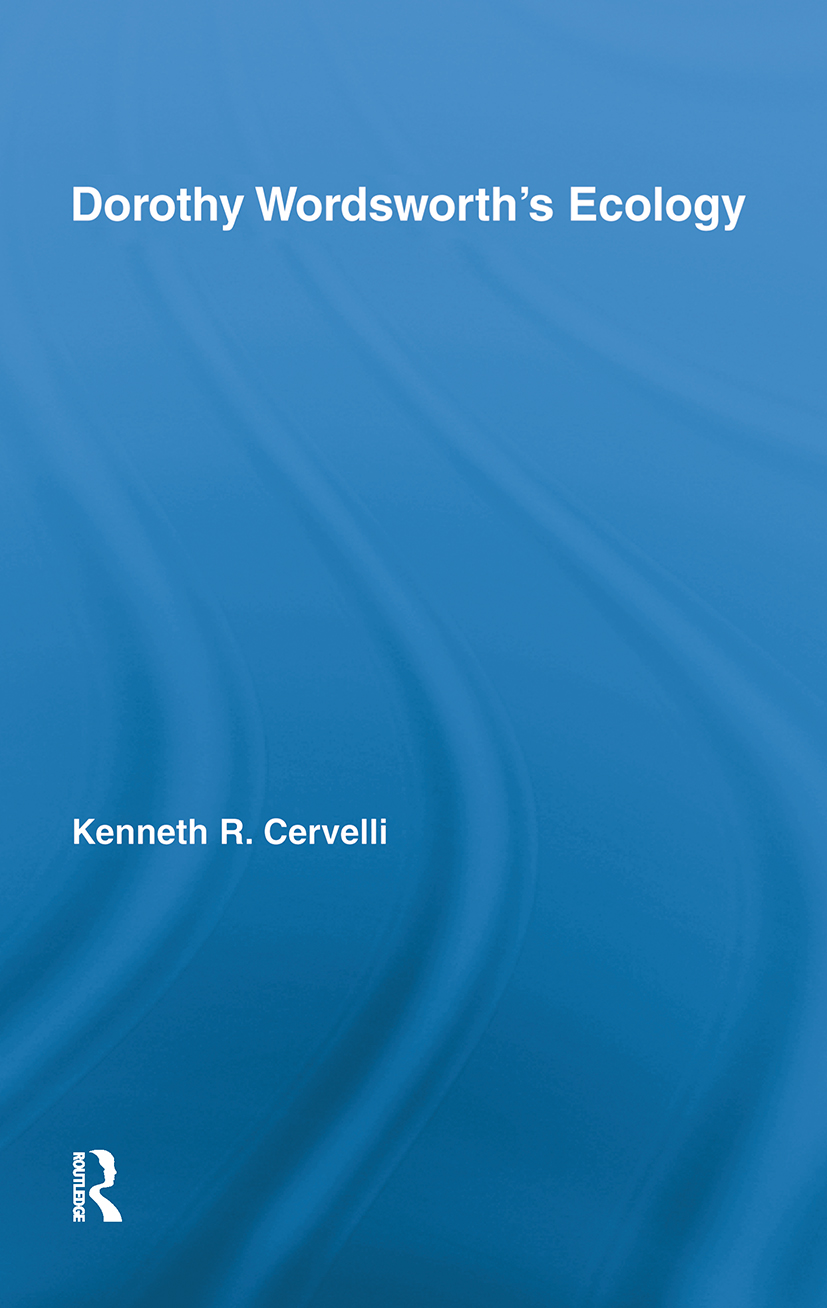 Dorothy Wordsworth's Ecology (Paperback) book cover