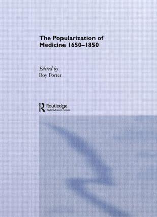 The Popularization of Medicine (Paperback) book cover