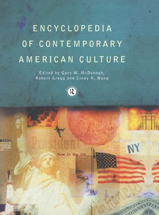 Encyclopedia of Contemporary American Culture (Paperback) book cover