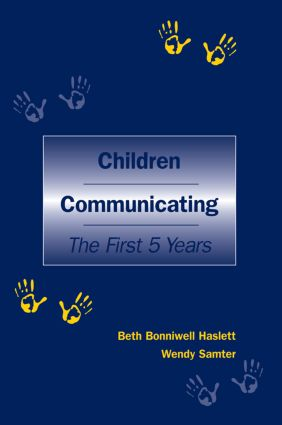 Children Communicating: The First 5 Years (Paperback) book cover