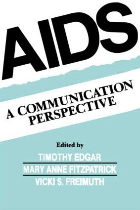 Aids: A Communication Perspective (Paperback) book cover