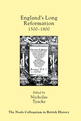 England's Long Reformation: 1500 - 1800, 1st Edition (Paperback) book cover