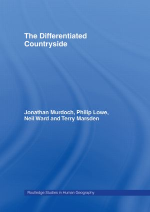 The Differentiated Countryside (Paperback) book cover
