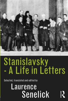 Stanislavsky: A Life in Letters (Paperback) book cover