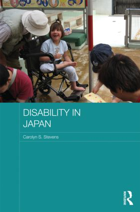 Disability in Japan (Hardback) book cover