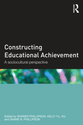 Constructing Educational Achievement: A sociocultural perspective (Paperback) book cover