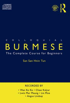 Colloquial Burmese: The Complete Course for Beginners book cover