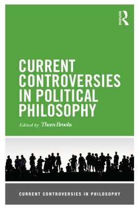 Current Controversies in Political Philosophy book cover