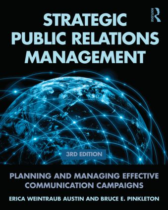 Strategic Public Relations Management: Planning and Managing Effective Communication Campaigns book cover
