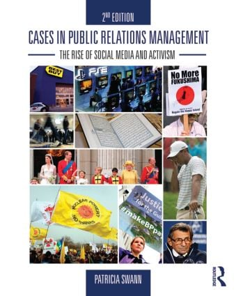 Cases in Public Relations Management: The Rise of Social Media and Activism, 2nd Edition (Paperback) book cover