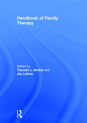 Handbook of Family Therapy: The Science and Practice of Working with Families and Couples book cover