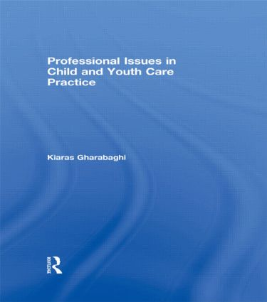 Professional Issues in Child and Youth Care Practice (Paperback) book cover