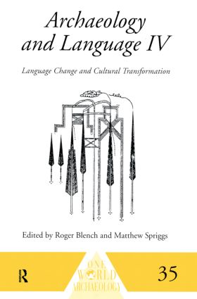Archaeology and Language IV: Language Change and Cultural Transformation (Paperback) book cover