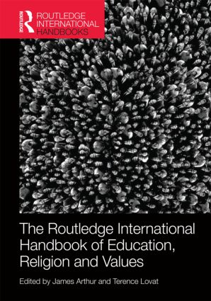 The Routledge International Handbook of Education, Religion and Values (Hardback) book cover