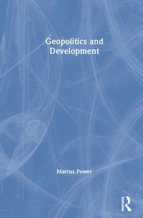 Geopolitics and Development book cover