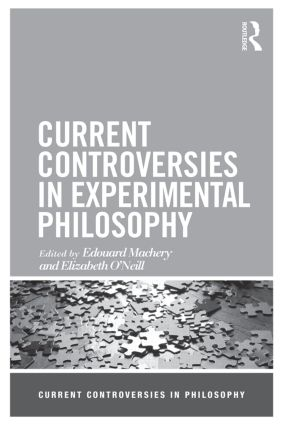 Current Controversies in Experimental Philosophy book cover