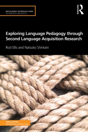Exploring Language Pedagogy through Second Language Acquisition Research (Paperback) book cover