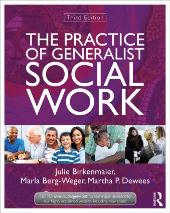 The Practice of Generalist Social Work: 3rd Edition (Paperback) book cover