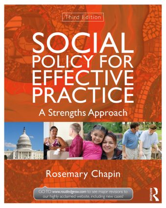Social Policy for Effective Practice: A Strengths Approach book cover