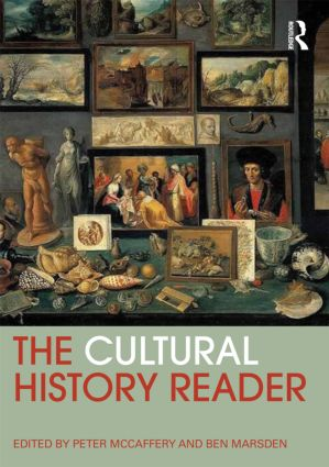 The Cultural History Reader book cover