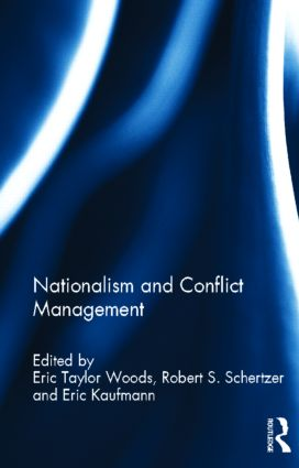 Nationalism and Conflict Management (Hardback) book cover