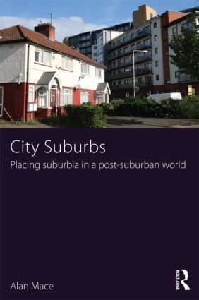 City Suburbs: Placing suburbia in a post-suburban world (Paperback) book cover